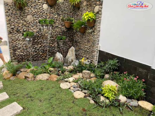 Thiết kế thi công tường nước tại Tây Ninh
