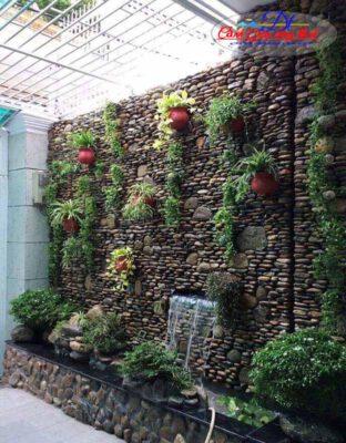 Thiết kế tường thác nước đẹp